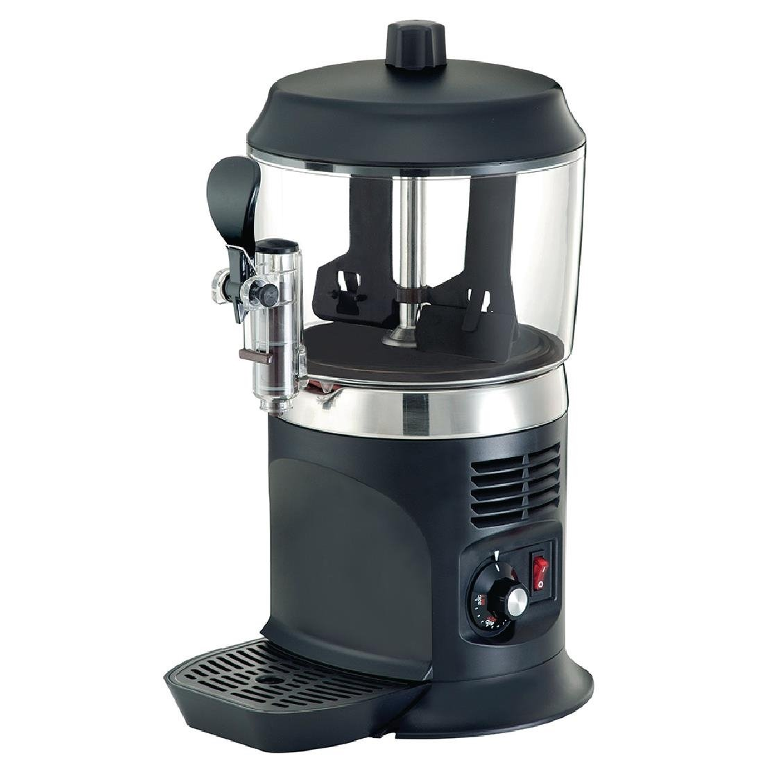 JM Posner Black Hot Chocolate & Sauce Maker