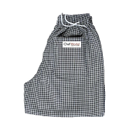 Easyfit Pants - Black Check