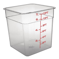 Polycarbonate Square Storage Container 7Ltr