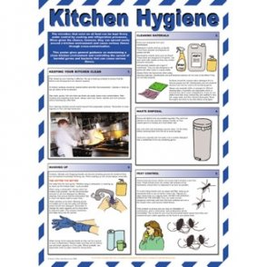 Kitchen Hygiene For Caterers Poster