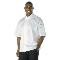 Chef Works Unisex Tours Cool Vent Executive Chefs Jacket White