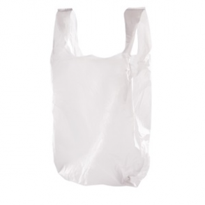 Large White Carrier Bags (Box 1000)