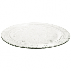 Olympia Round Glass Plate - Clear 270mm (Box 6)