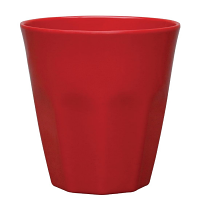 Kristallon Melamine Plastic Tumbler Red 290ml