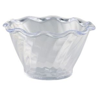 Tulip Dessert Dish Clear 159ml 95 x 55mm
