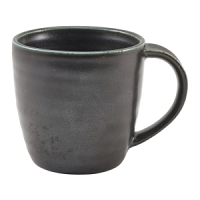 Terra Porcelain Cinder Black Mug 32cl/11.25oz