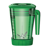 Waring 1.4Ltr Green Stacking MX Jar with Lid for CB135