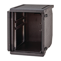 Cambro CamGO Front Loader with Adjustable Rails