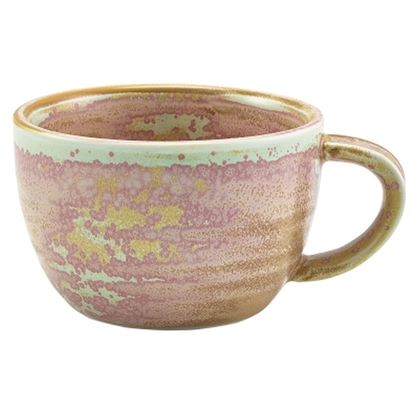Terra Porcelain Rose Coffee Cup 28.5cl/10oz