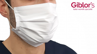 White Face Mask from Giblor 2 Pack