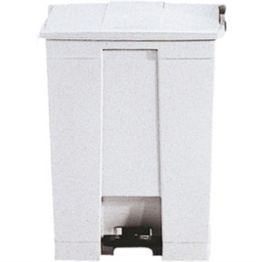 Rubbermaid Step-On Container White - 68Ltr