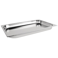 Stainless Steel Gastronorm Pan - 1/1 Full Size 40mm deep