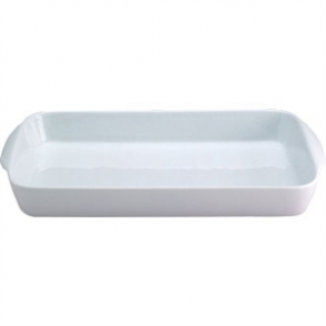 "Oblong Hors D""oeuvre Dish  185mm (Box 6)"