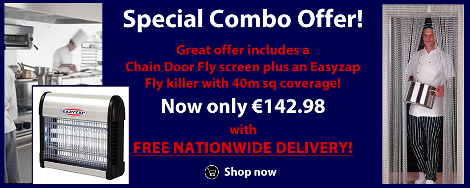 Fly Killer & Fly Screen Offer for delivery nationwide!