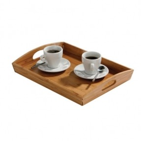 Handled Wood and Service Trays