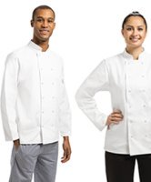 White Chef Jackets and Tunics