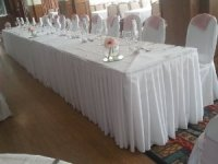 Table Skirting And Clips
