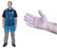 Disposable Gloves and Aprons