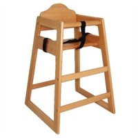 Bolero Wooden High Chairs