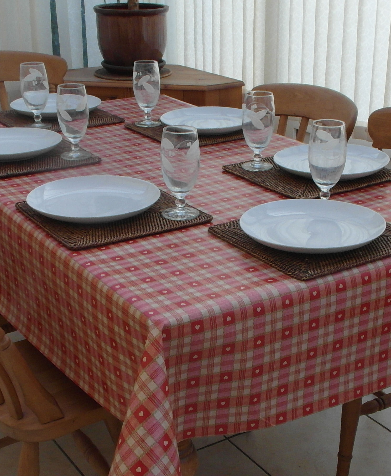 Patterned PVC Tableclothes
