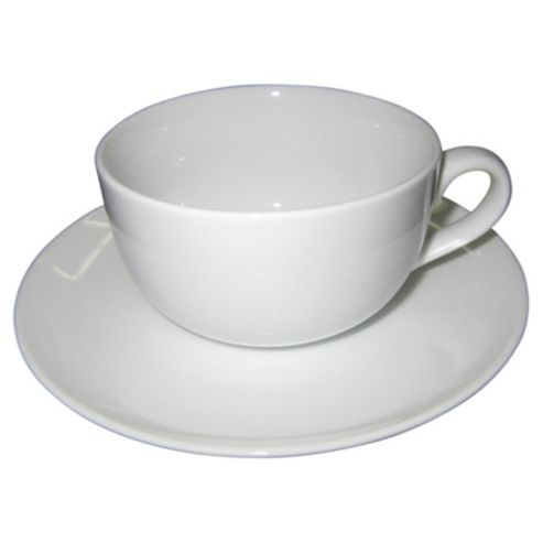 Whiteware - Cups & Saucers