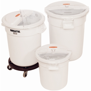 Rubbermaid Brute Containers,Lids & Dollies