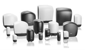 Katrin System Toilet Roll, Hand towel & Dispensers