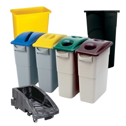 Rubbermaid Slim Jim Containers
