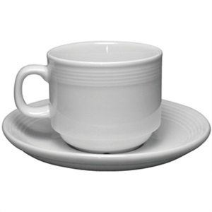 Olympia Linear - Cups and Saucers