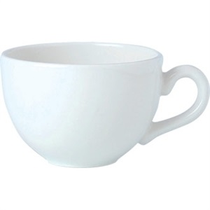 Steelite Simplicity White - Cups and Saucers