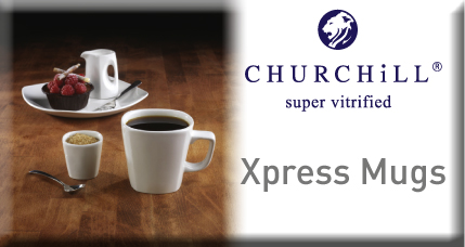 Churchill Xpress Square Mugs