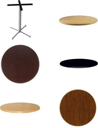 Table Tops & Table Bases to Mix & Match
