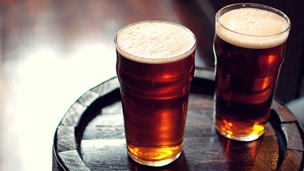 Toughened Nonic Beer Glass