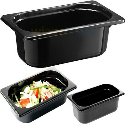 Black Polycarbonate Gastronorm Containers