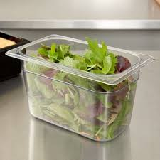 Clear Polycarbonate Gastronorm Containers
