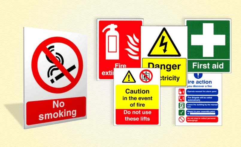 Food & Safety Signs