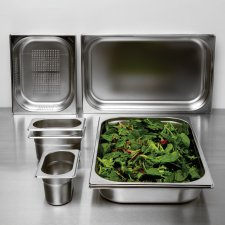 Gastronorm Pans - Stainless Steel