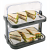Double Stack Cooling Display Tray Roll Top - 440x320x440mm (includes 4 coolers)