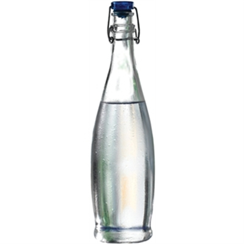 Glass Water Bottle 1 Ltr 6pc 100 Irish Fast Free