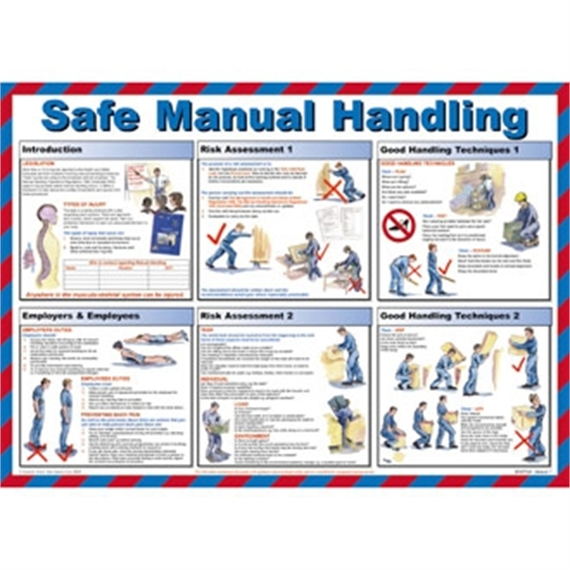 safe manual handling poster  100  irish  fast free diy miniature wire furniture diy miniature wire furniture