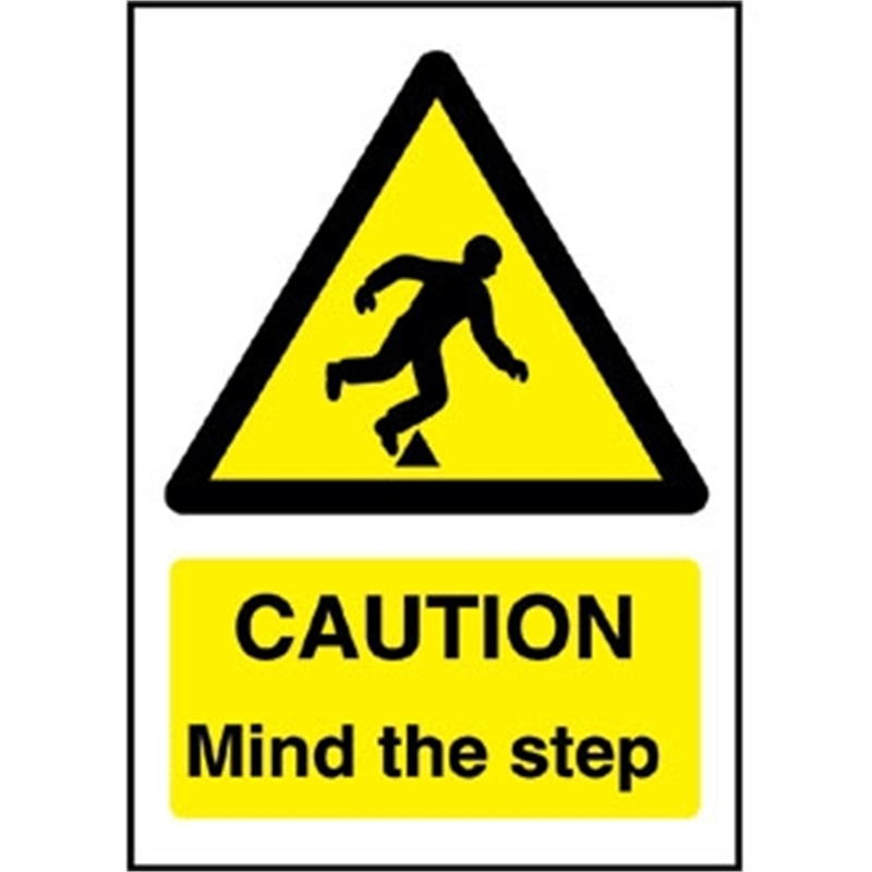 Caution Mind The Step Sign Waterford Cork Dublin