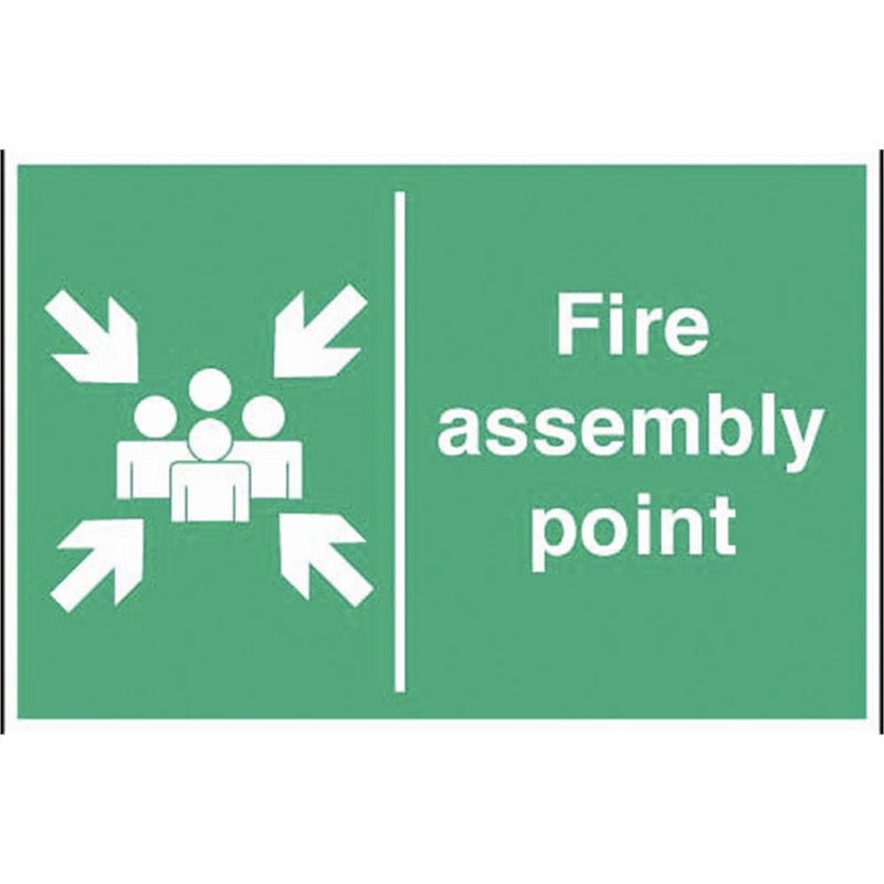 fire assembly point sign catering supplies ireland. Black Bedroom Furniture Sets. Home Design Ideas