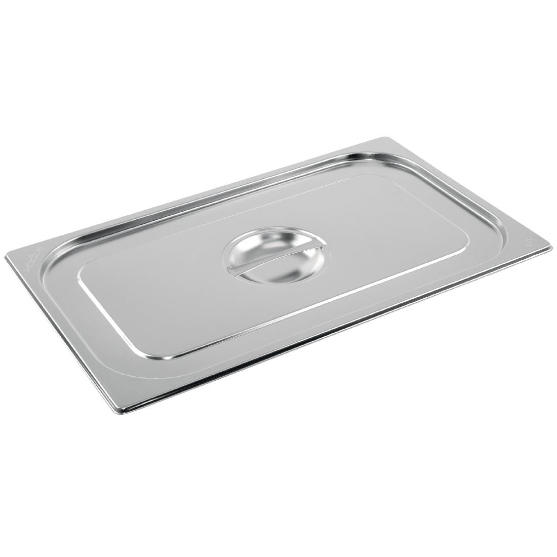 Vogue Stainless Steel 1/1 Gastronorm Lid