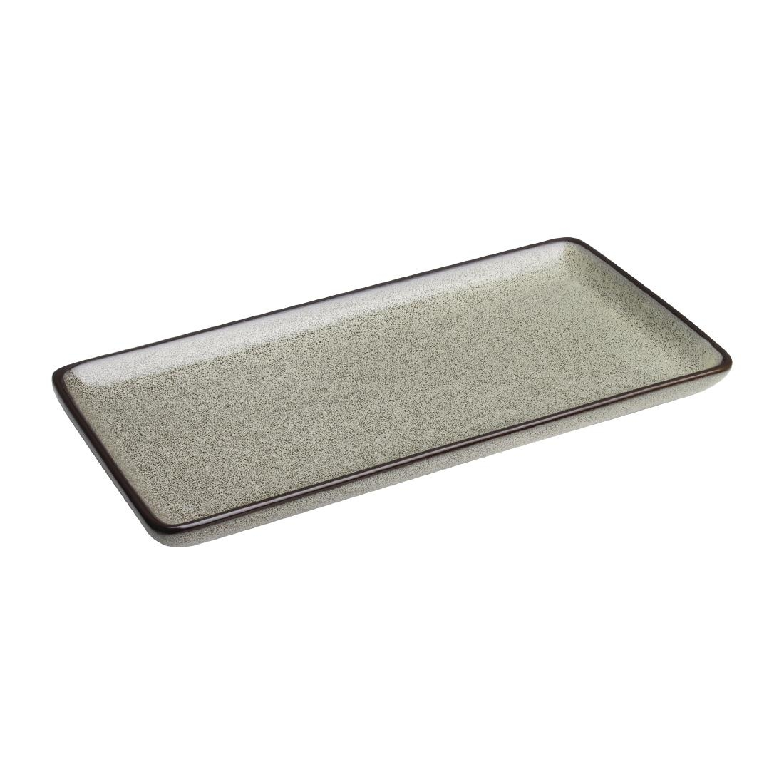 Olympia Mineral Rectangular Plate 335mm