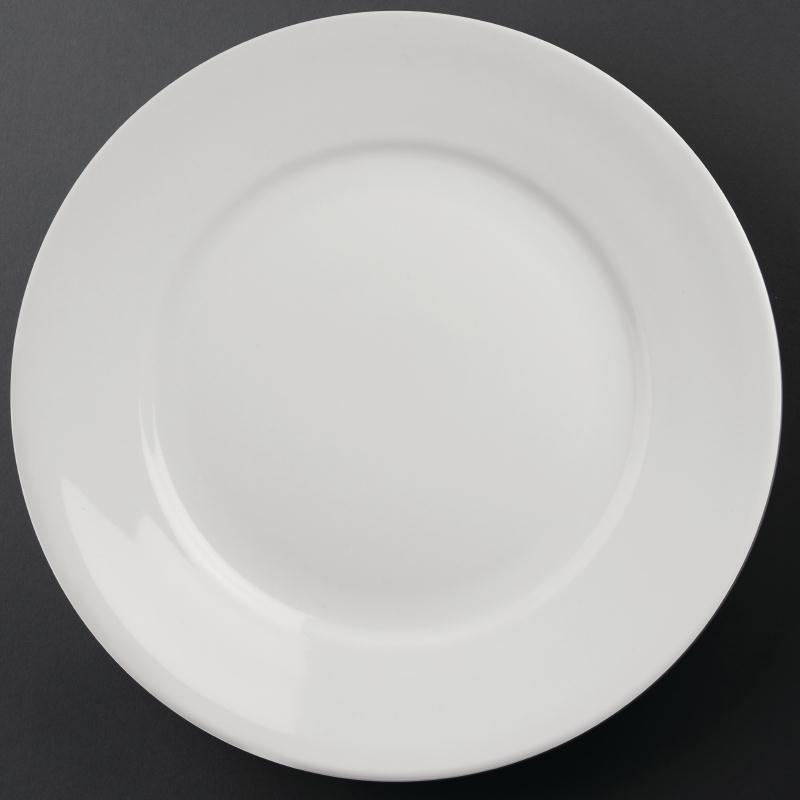Athena Hotelware Wide Rimmed Plate 280mm ( Box 6)