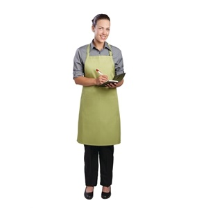 Colour by Chef Works Bib Apron Lime