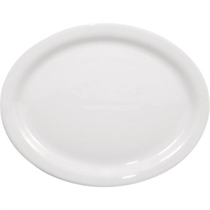 Olympia Whiteware Oval Plate/Platter - 295mm 11.5 (Box 6)