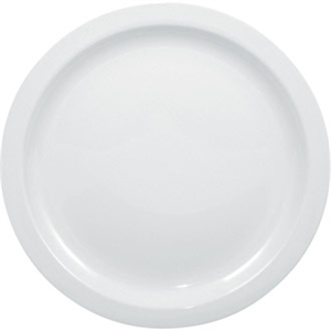 Olympia Whiteware Narrow Rimmed Plate - 28cm 11 (Box 6)