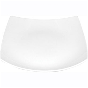 Olympia Whiteware Square Bowled Plate - 165x165x35mm (Box 12)