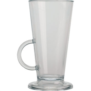 Elite Polycarbonate Latte Cup - 227ml 8oz (Box 18)